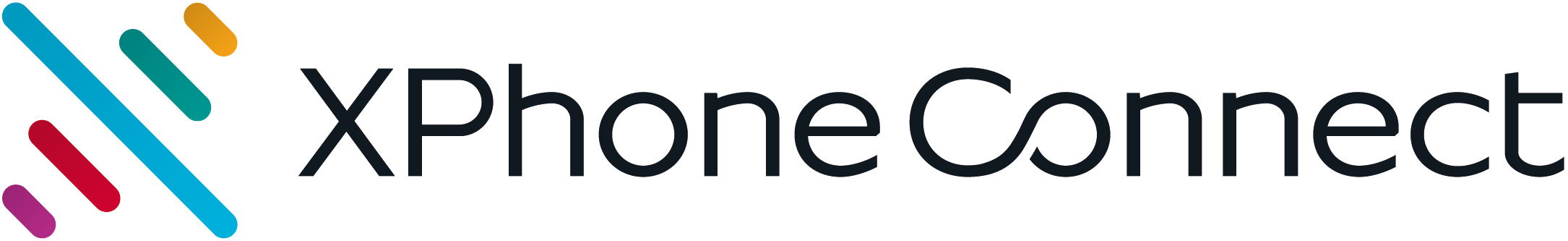 XPhone Connect Logo OnWhite
